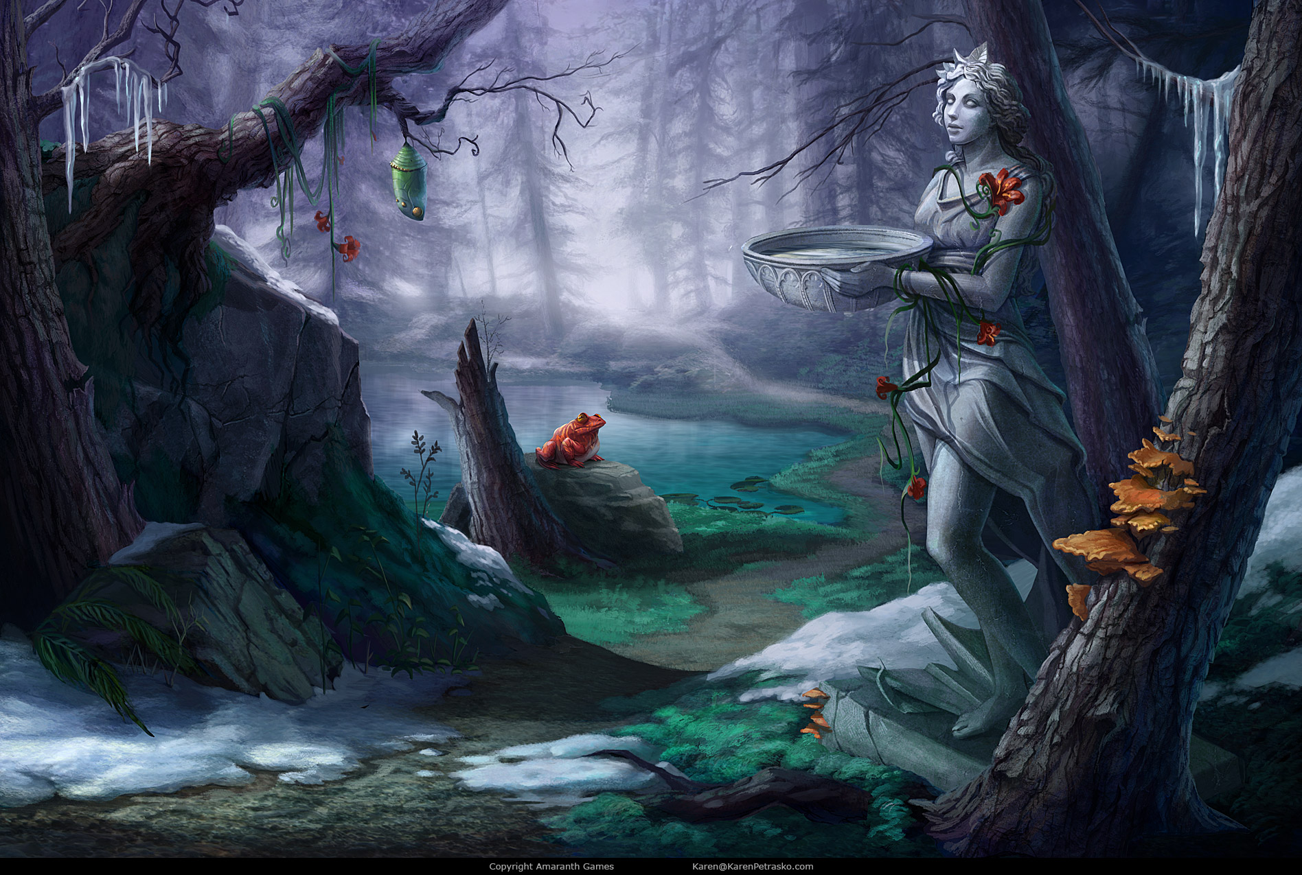 Forgotten Forest created for Curse at Twilight: Thief of Souls
